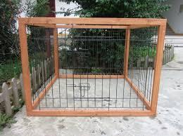 dog fence ideas outdoor