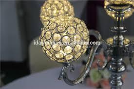 ida wedding acrylic table top chandeliers wedding crystal table