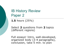 ib history review paper ppt ib history review paper 2