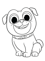 Puppy Dog Pals Bob Coloring Pages Puppy Coloring Pages For Elderly