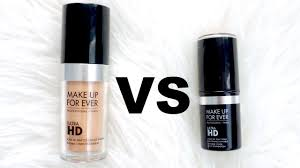 makeup forever invisible cover foundation vs stick foundation review you