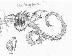Perspective Screaming Death Coloring Pages New Razorwhip Lineart
