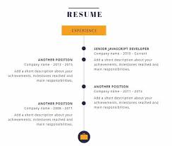Another Name For Resume Create An Infographic Resume And Get Hired 10 Inspiring