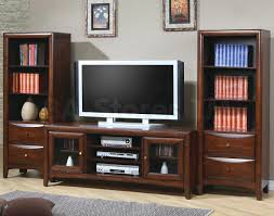 Lcd Tv Furniture For Living Room Living Room Laminated Wooden Storage Shelves Lcd Tv Stand Books