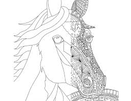 Small Picture Coloring Pages Rearing Horse Coloring Pages Printable Coloring