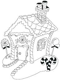 Gingerbread House Coloring Pictures Coloring Pages Of Gingerbread
