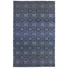 mohawk home prismatic linear maze navy geometric precision printed area rug 8 x10 navy