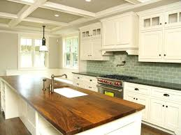 white country kitchen with butcher block. Fine Country White Cabinets With Butcher Block Countertops Country Kitchen   On White Country Kitchen With Butcher Block