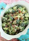 a lighter broccoli salad