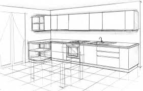 Disegni Cucina D0dg Cucine Disegni Tre Cucine Difficili In Meno By