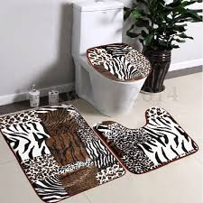 Zebra Bathroom Rug Similiar Animal Print Bathroom Rugs Keywords