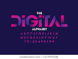 Abstract Font Images Stock Photos Vectors Shutterstock