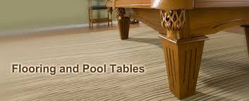 while carpet softens and warms a room especially in colder climates or finished basements carpeting presents challenges for your pool table