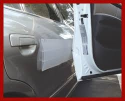 the park smart stick on door guard is the ideal preventative mere against door dings and chipped paint the soft nearly invisible door guard helps