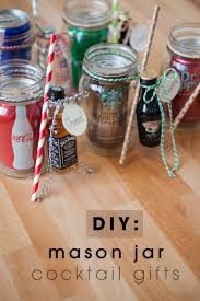 Ideas For Decorating Mason Jars For Christmas The Original DIY Mason Jar Cocktail Gifts 17