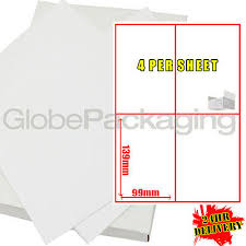 labels 6 per page 500 sheets of printer address laser labels 1 per page 26 00