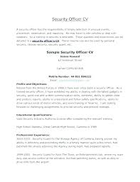 Airport Security Resume Sample Best Of Security Officer Resume Examples Security Officer Resume Objective