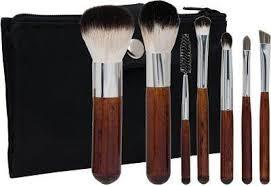 crown italian badger makeup brush set 602 beauty source morphe brushes vegan 10 piece