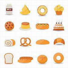 dinner rolls clip art.  Dinner Bakery And Bread Icon Vector Art Illustration Intended Dinner Rolls Clip Art V