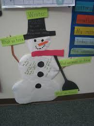 Chart On Winter Season Wkl Chart On Winter For My Pre K Class Seasons Chart Pre