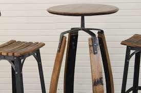round high top bar tables starrkingschool outdoor wooden table and stools light wood pub chairs cherry