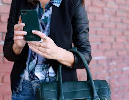 sydne style green accessories emerald color of the year pantone 2016 gigi new york leather iphone case monogrammed damsel in dior gorjana griffin necklace