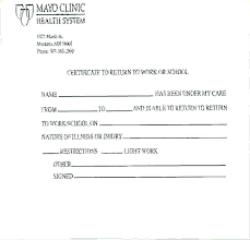 Fake Doctors Note For Work Template Naomijorge Co