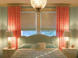 Coral Patterned Curtains Interesting Design Ideas