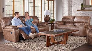 Simple Living Room With Light Brown Suede Sectional Sofa Living Living Rooms Set