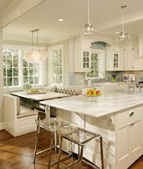 trendy banquette breakfast kitchen nook lighting ideas design
