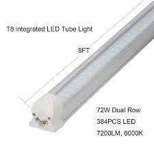 8ft Black Light Bulb Jesled 8ft Led Tube Light Bulbs 72w 7200lm 150w Fluorescent