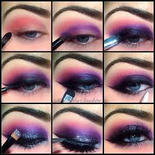 image result for galaxy makeup tutorial