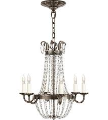 visual comfort chc1407shs sg e f chapman paris flea market 6 light 16 inch sheffield silver chandelier ceiling light