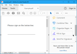 How To Electronically Sign Pdf Documents Without Printing