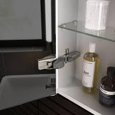 600mmx650mm Luminaire lluminated LED Mirror Cabinet Bluetooth