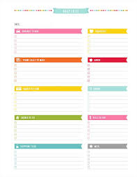 Daily To Do Printable Pdf Planner Page Instant Download