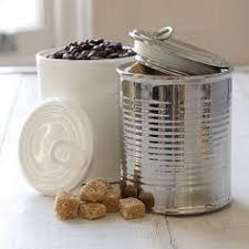 tin can storage jar 10th wedding anniversary gift ideas