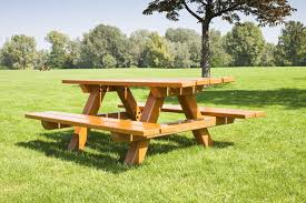 back to the useful and awesome design of teak picnic table