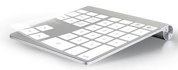 apple numeric keyboard. for accounting majors and other excel wizards, a numeric keypad is indispensable. unfortunately, the apple wireless keyboard that comes with imacs these b