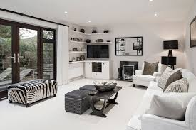 African Living Room Dcor as Excotic Ideas for Your Interior Home : White Living  Room Ideas