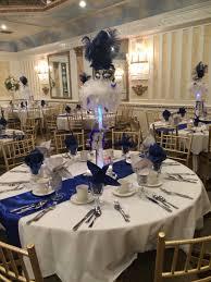 Royal Blue , white , & silver.