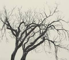 Tree Drawing - Tree Of Twigs by Michelle Miron-Rebbe