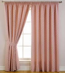 Pink And Cream Bedroom Curtains And Drapes Pink Dot Diy Curtain Cream Painted Wall Oak
