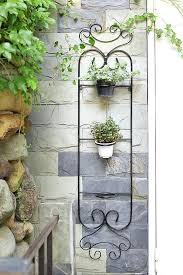 iron wall planter iron wall planter basket