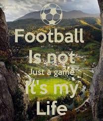 Voetbal is mijn leven