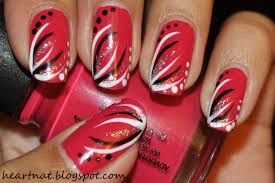 Do freehand nail art - how you can do it at home. Pictures designs ...
