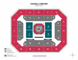 Value City Arena Seating Chart Seating Charts Ohio State Buckeyes