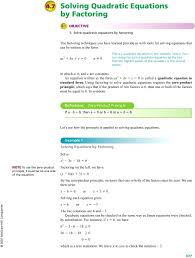 solve ax2 bx c 0 by factoring math equation in one variable here x you can
