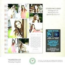 Ad Page Templates Quarter Page Flyer Template Full Ad Photoshop Half