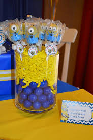 Minions Candy Party Ideas